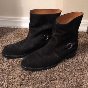 Gucci Susan Black Riding Boots